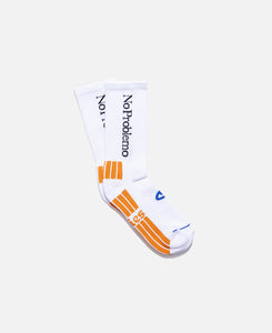 No Problemo Socks (White)