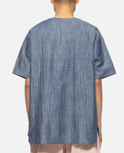 Oversized Dress Up T-Shirt (Blue)