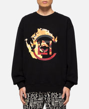 Logo Flame Crewneck (Black)