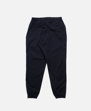 Poly Dry Twill  Side Line Seam Pocket Easy Pant (Black)