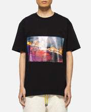 Wavy Flame T-Shirt (Black)