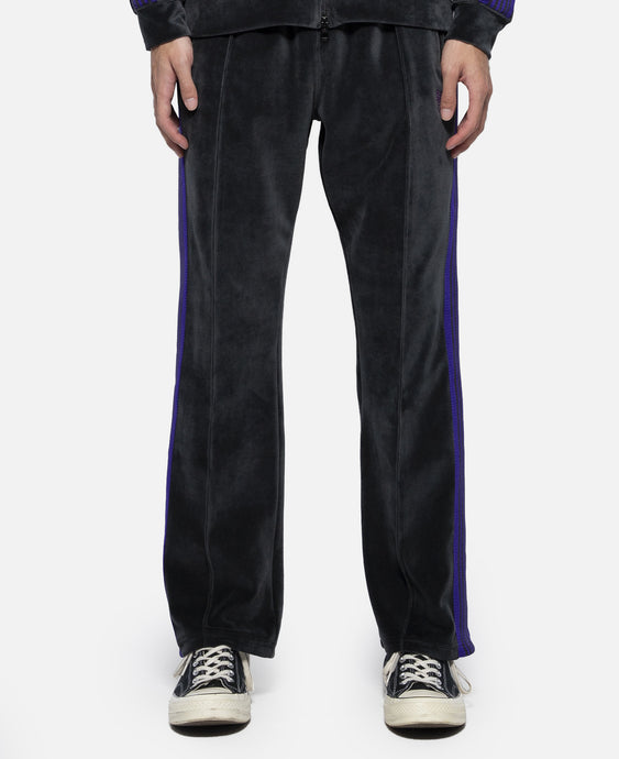 C/PE Velour Narrow Track Pant (Charcoal)