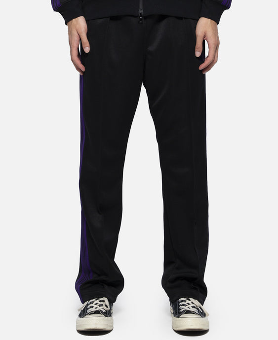 Poly Smooth Narrow Track Pant (Black)