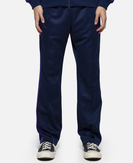 Poly Smooth Narrow Track Pant (Navy)