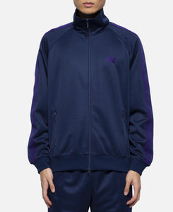 Poly Smooth Track Jacket (Navy)