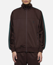 Poly Smooth Trainer Jacket (Brown)