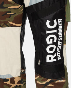 Camo Patchwork Pants (Rgs-004)  Multi