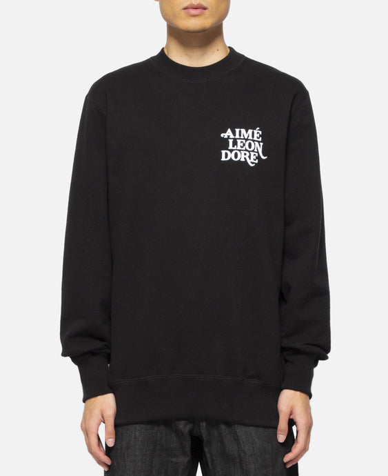 70s Graphic Crewneck (Black)