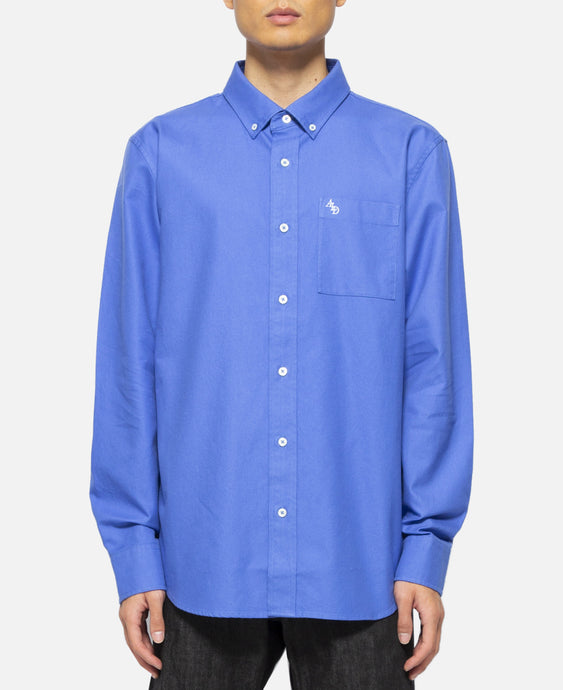 Solid Oxford Shirt (Blue)