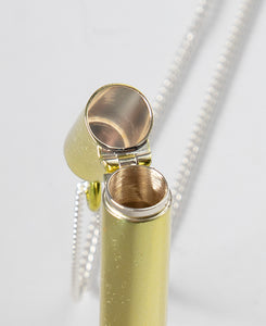 SSS Cig Case Necklace (Gold)