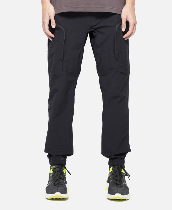 Tech Cargo Pants (Black)