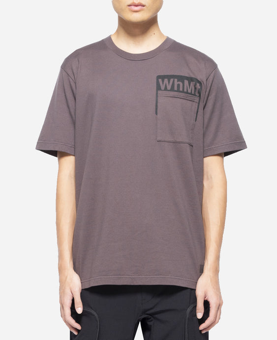 Pocket Printed T-Shirt (Charcoal)