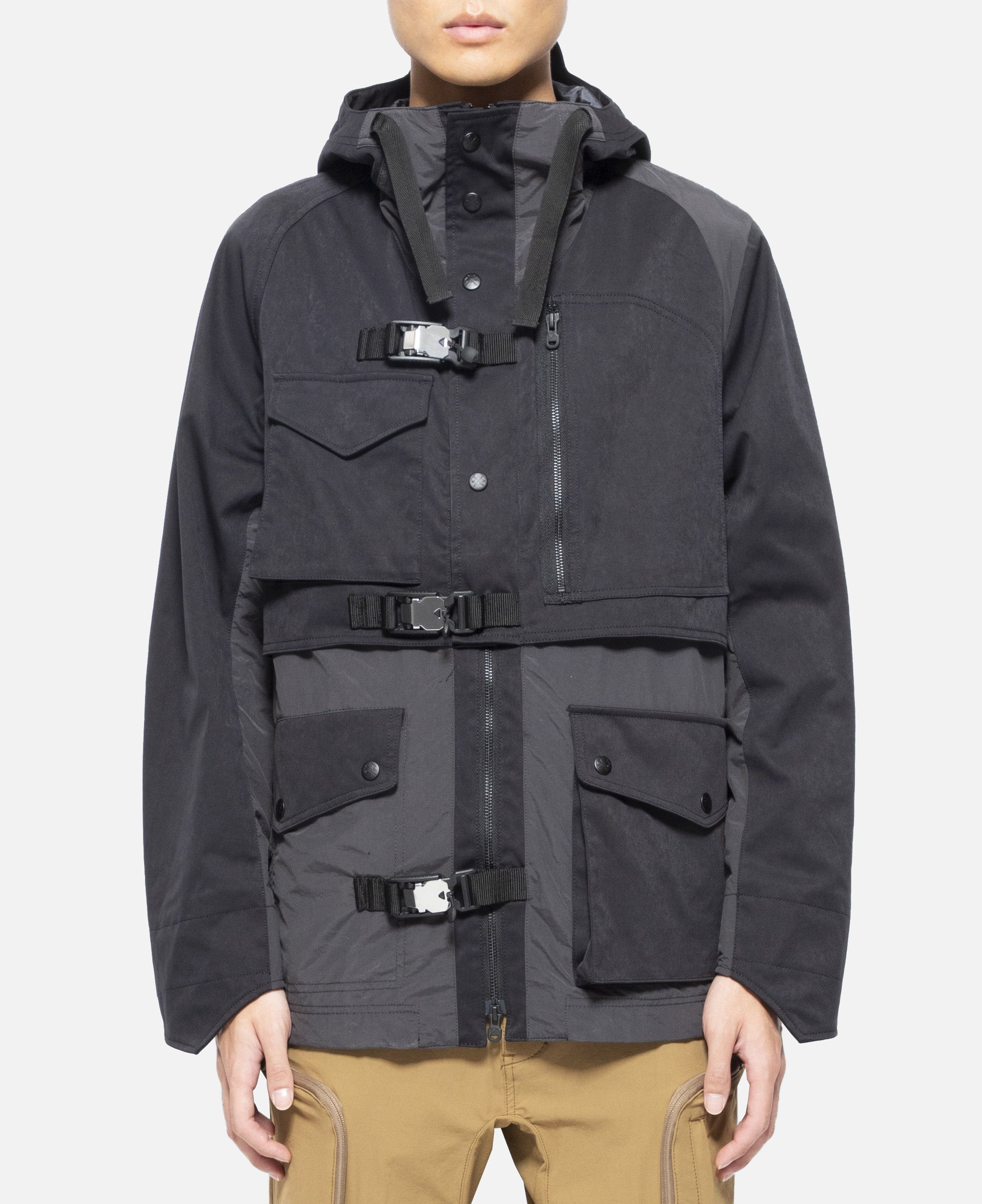 Gore-Tex Infinitum Mixed Mountain Parka (Black)