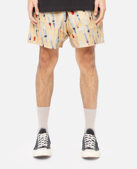 Beverly Twill Shorts (Yellow)