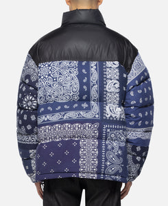 Bandana Down Jacket (Navy)