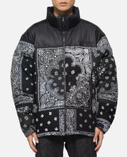 Bandana Down Jacket (Black)