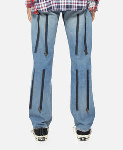 Rebuild By Needles #501 Zipper Pant (Blue)