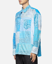 Bandana L/S Shirt (Blue)