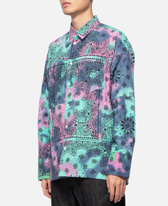 Bandana L/S Shirt (Purple)