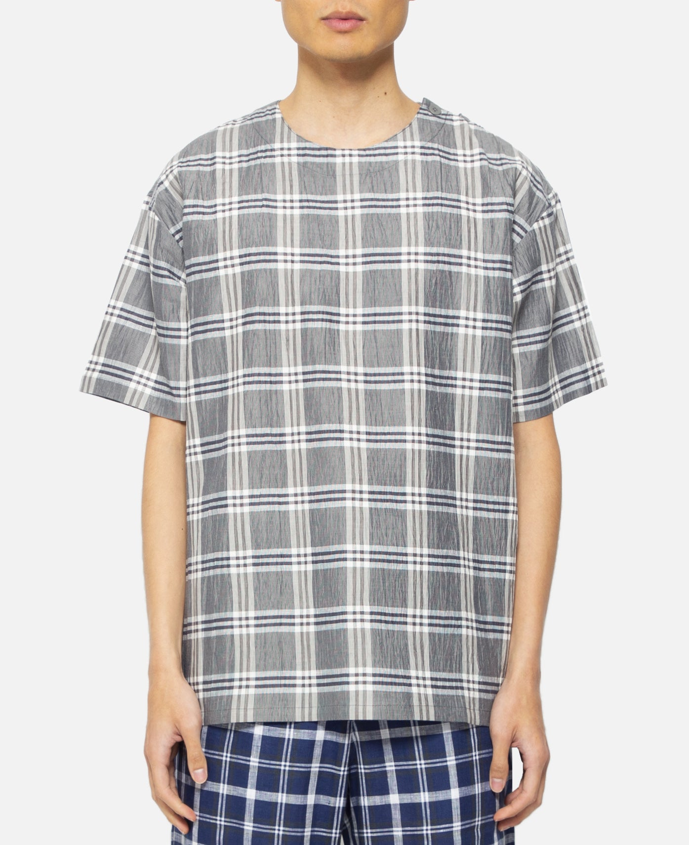 Oversized Dress Up T-Shirt (Checkerboard)