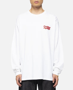 Masked Rabbit L/S T-Shirt (White)