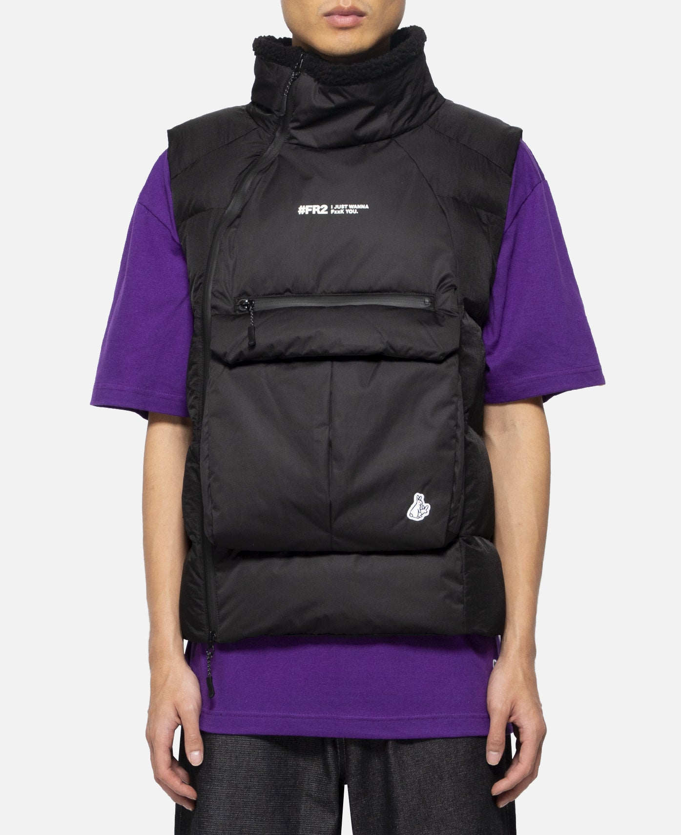 Photographer Padding Vest (Black)