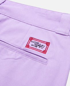 Stamp Chinos (Purple)