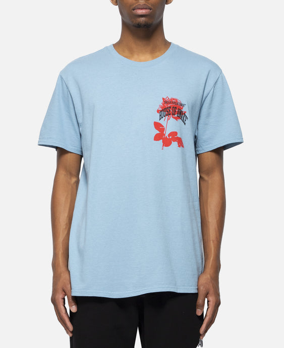 Rose T-Shirt (Blue)
