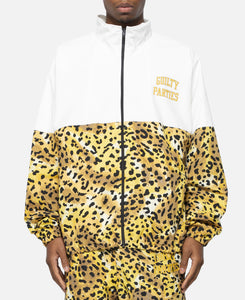 Leopard Track Jacket (Yellow)