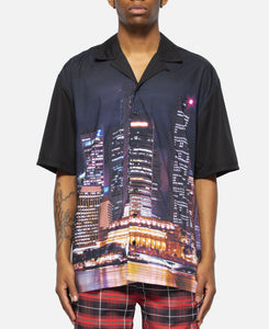 Metro Button Down (Black)