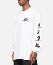 Crew Neck Long Sleeve T-Shirt Type-3 (White)