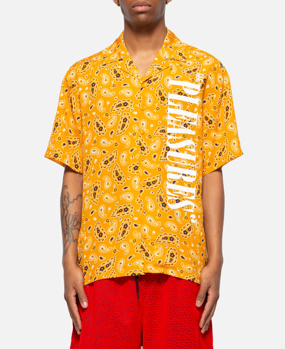 Andy Rayon Button Down (Yellow)