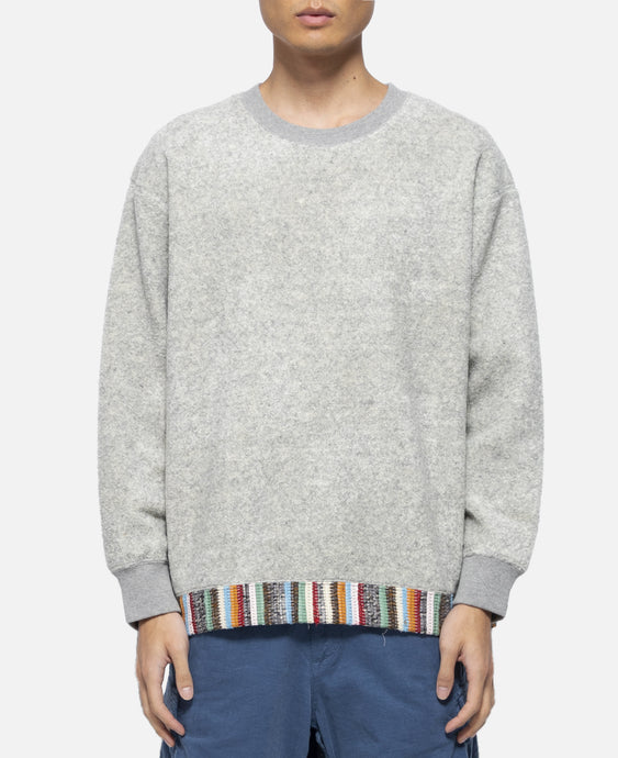 Fleece Crewneck (Grey)
