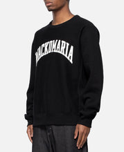 Heavy Weight Crew Neck Sweat Shirt Type-4 (Black)