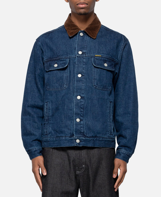 Denim Trucker Jacket -B- Type-2 (Blue)