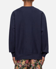 Balance Embroidered Premium Sweatshirt (Navy)