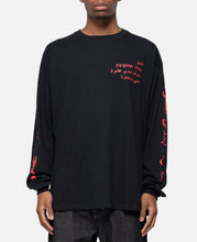 Crew Neck Long Sleeve T-Shirt Type-2 (Black)