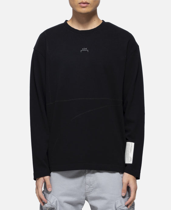 Core Overlock L/S T-Shirt (Black)