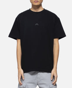 Core T-Shirt With Flat Overlock (Black)