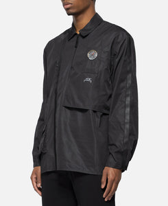 3D Pocket Taped Polo Compass Detail (Black)