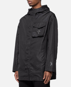 Storm Coat 3D Patch Pocket With Flap On Chest (Black)
