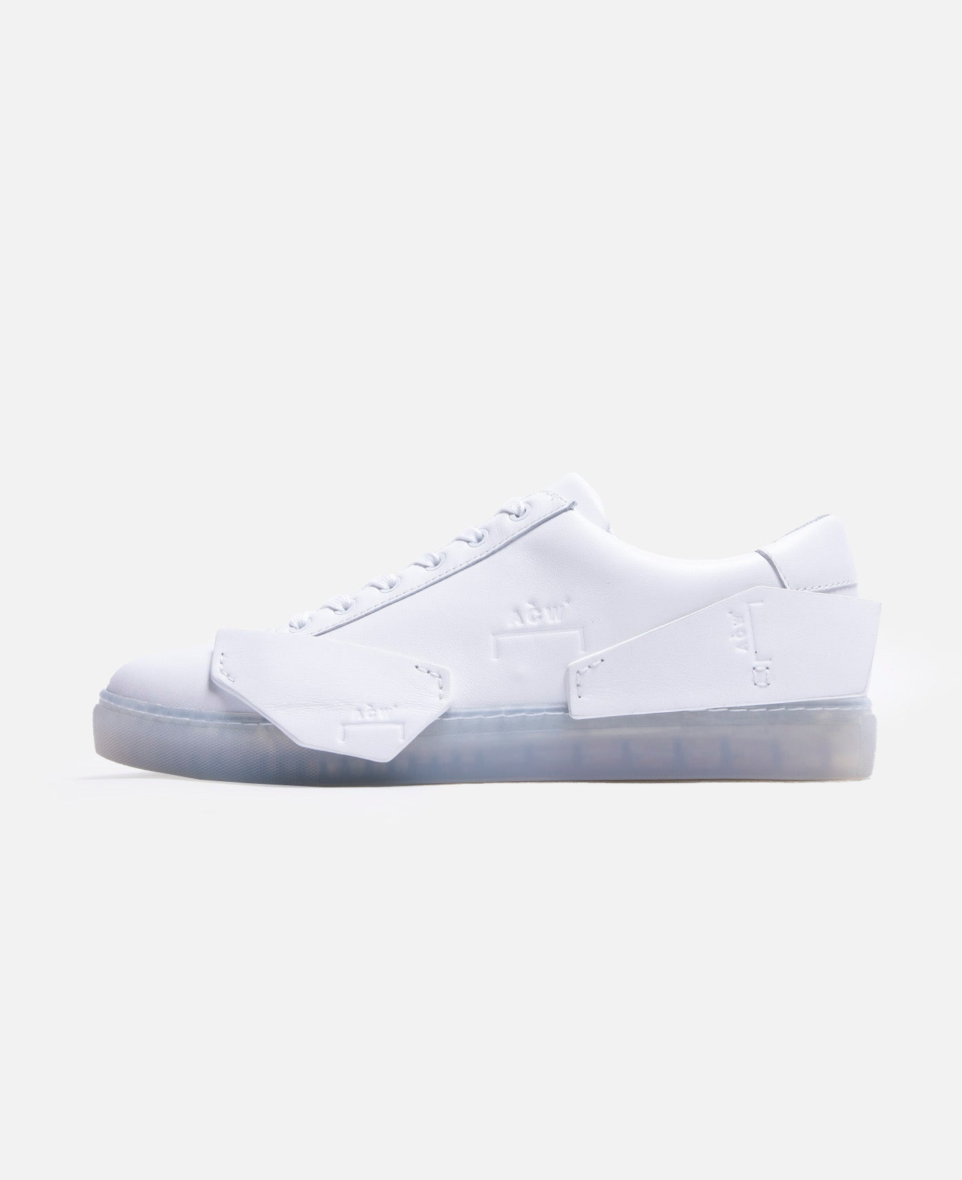 Multipanel Leather Sneaker