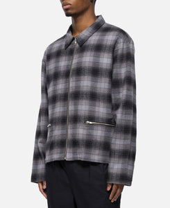 Anderson Flannel Jacket (Charcoal)