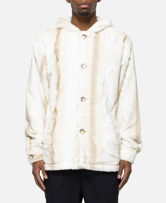 Powder Hound Fur Jacket (Cream)