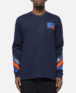 Antonio Long Sleeve T-Shirt (Navy)