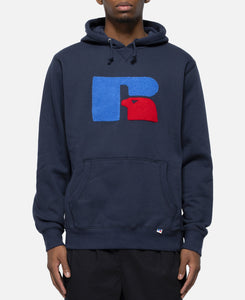 Chenille Logo Mike Hoody (Navy)