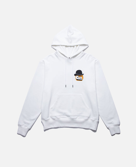 CLOT Work Face Hoodie (White)