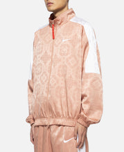 Rose Gold Silk Pattern Track Jacket
