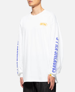 Biker Girl L/S T-Shirt (White)