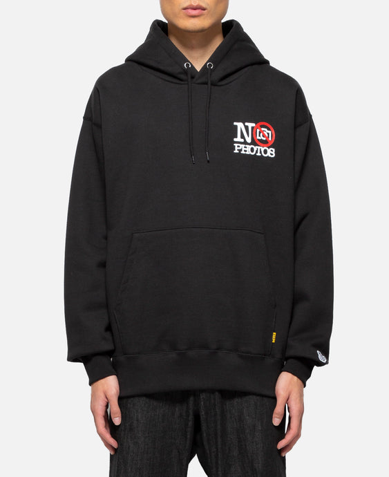 New No Photos Hoodie (Black)
